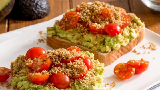 Photo of Quaker® Avocado Toast with Savoury Oat Crumble by Quaker