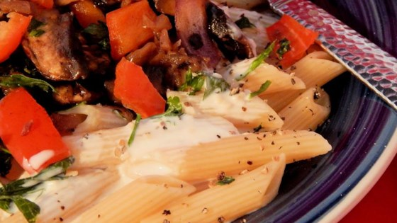 Photo of Penne with Yogurt-Tahini Sauce by Bob Cody
