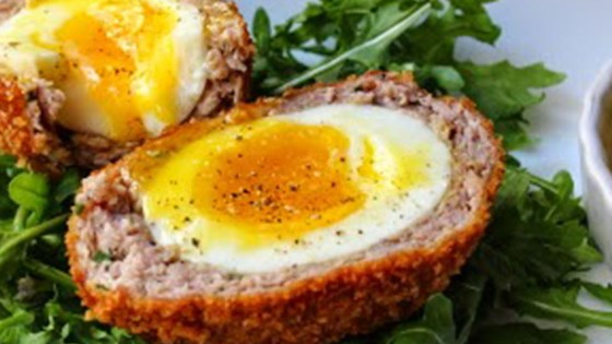 Chef johns scotch eggs recipe allrecipes chef johns scotch eggs forumfinder