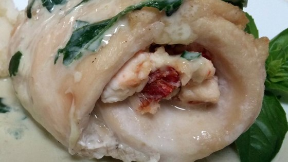 Photo of Creamy Tuscan Chicken Rollups by Idahoan