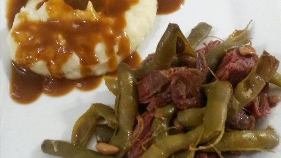 Photo of Slow Cooker Cured Venison and Beans by Idahoan