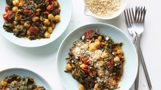 Photo of Sandy's Chickpea and Spinach Stew by SandyG