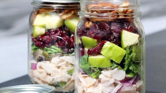 Originals Oven Roasted Chicken Salad Mason Jar