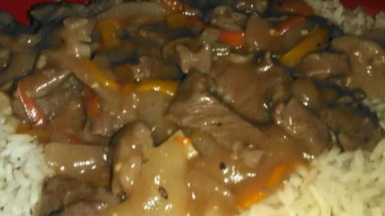 Photo of Pepper Steak and Rice by HELENWRG