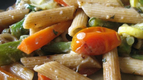 Photo of No-Cream Pasta Primavera by amanda1432