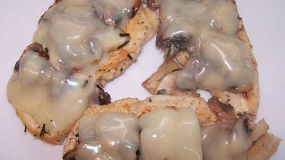 Photo of Mozzarella Mushroom Chicken by pinksnowflakeliz