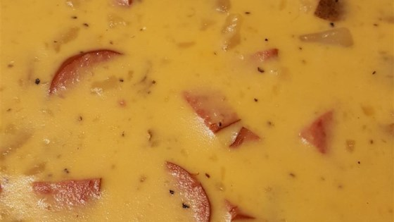 Photo of Smoky Potato Cheese Soup by Karin  Christian