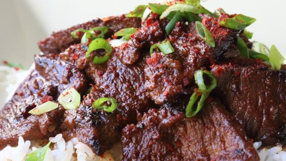 Bulgogi Beef (Korean-Style Barbecue) Recipe