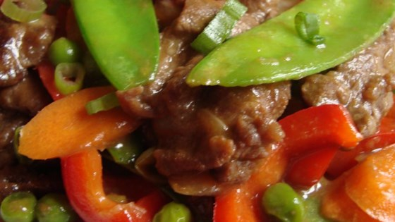 Filipino Beef Stir-Fry Recipe