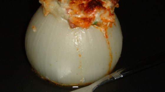Photo of Peter's Baked Stuffed Onions by Suzanne Cook