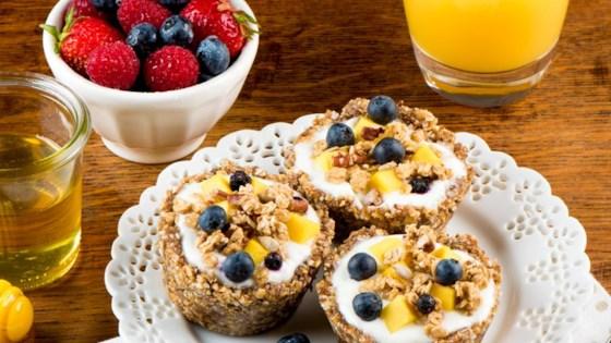 Photo of Quaker® No-Bake Granola and Yogurt Tarts by Quaker