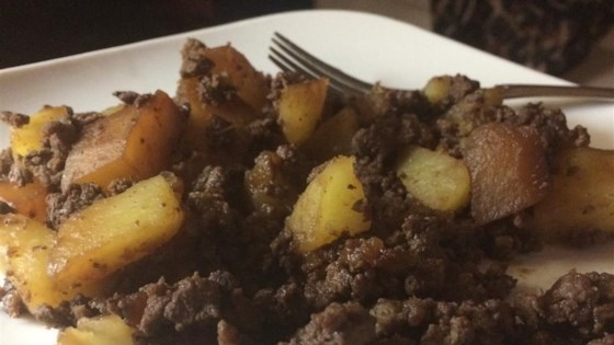 Hunters' Hash (Venison Meat Stuffing) Recipe