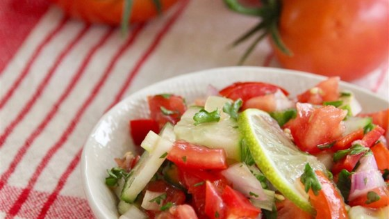 Photo of Vinagrete (Brazilian Tomato Slaw) by Kevin Marcelle