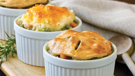Photo of Individual Turkey Pot Pies by College Inn® Broths and Stocks