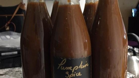 Pumpkin Spice Latte Coffee Syrup