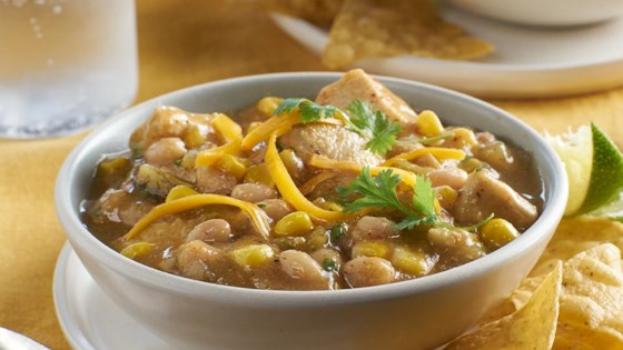 Photo of White Chili with Chicken & Corn by College Inn® Broths and Stocks