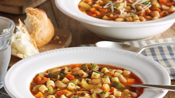Photo of Classic Minestrone Soup by College Inn® Broths and Stocks