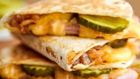 Photo of Ham & Gouda Quesadilla by Borden® Cheese