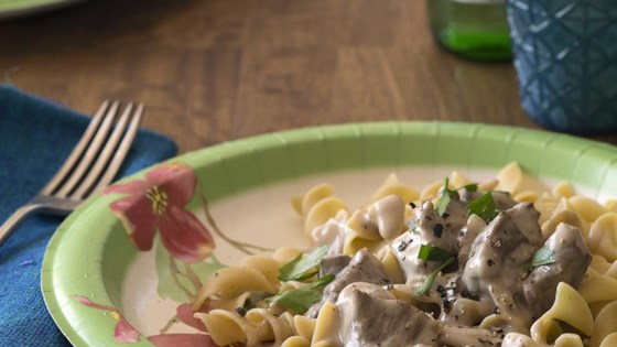 Photo of So Simple Beef Stroganoff by SHANL76