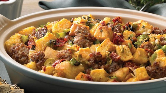 Photo of All Natural Ground Italian Sausage Stuffing by From the Kitchen at Johnsonville Sausage