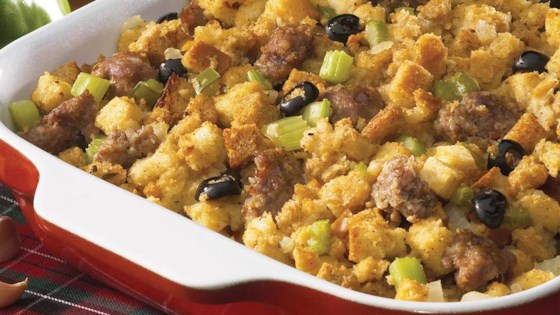 Photo of Italian Sausage Stuffing by From the Kitchen at Johnsonville Sausage