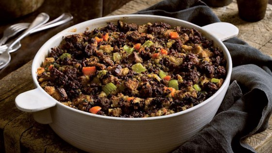 Photo of Traditional Sausage Stuffing by From the Kitchen at Johnsonville Sausage