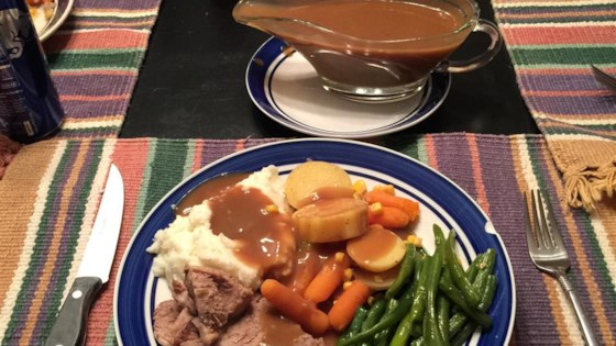 Photo of Tangy Slow Cooker Pork Roast by K
