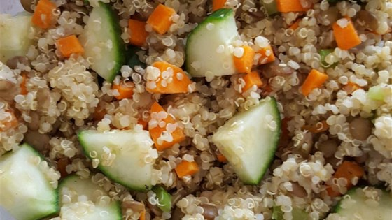 Photo of Quinoa and Lentil Salad by zoeDisco
