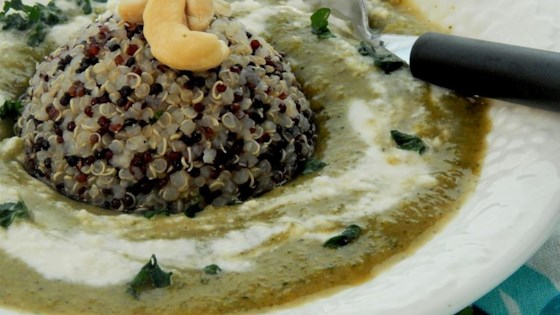 Photo of Cream of Broccoli Soup with Quinoa by SeaStock