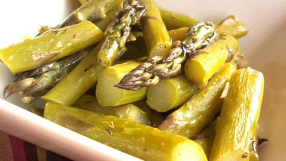 Photo of Roasted Asparagus and Garlic by Robyn Webb