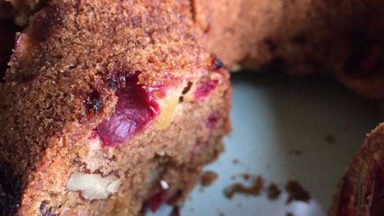Photo of Cranberry Apple Cake by stupidmonke