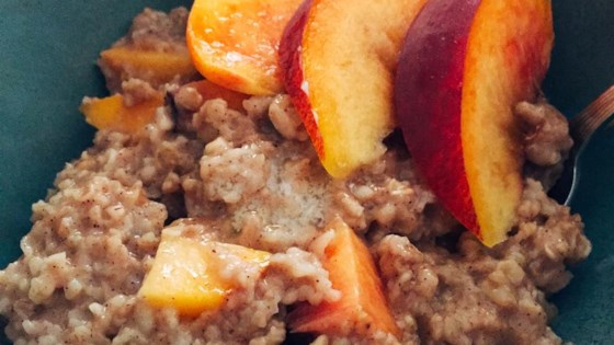 Photo of Peachy Oatmeal by Marcie