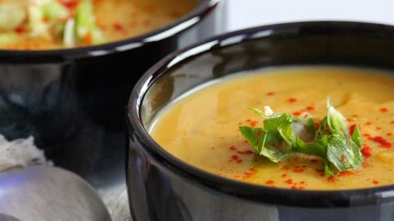 Photo of Coconut Curry Butternut Squash Soup by Mint&Mangos