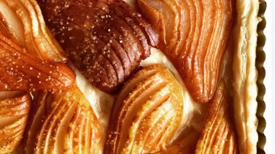Photo of Hasselback Pear Tart by Nicholio