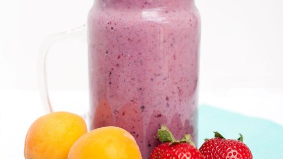Photo of Berry Apricot Smoothie by Almond Breeze