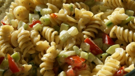 Photo of Best Ever Pasta Salad by ILOVETOCOOK