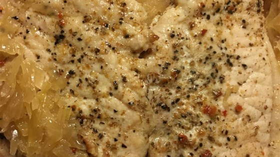 Flavorful German Pork Chops and Sauerkraut