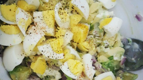 Lighter Avocado Egg Salad