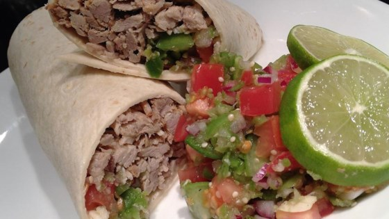 Photo of Carnitas with Pico De Gallo by jamielynne