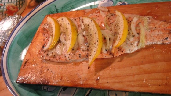 Photo of Canadian Cedar Planked Salmon by SWIZZLESTICKS