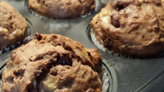Photo of Chocolate Chip Banana Muffins by Noni