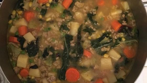 Photo of Ground Turkey Soup by Tammy Zosh