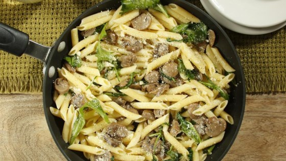 Photo of Jen's One Pan Penne with Mushrooms and Arugula by Barilla Canada