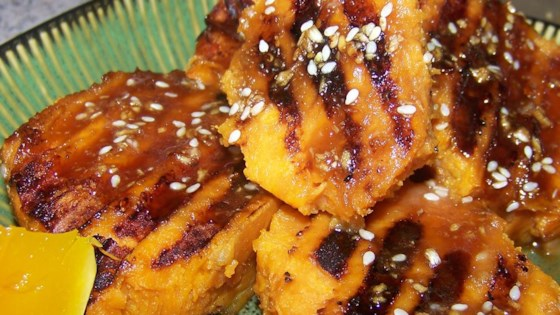 Photo of Grilled Sweet Potatoes by Gay Nell  Nicholas