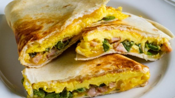 Photo of Jalapeno and Canadian Bacon Breakfast Quesadillas by Jones Dairy Farm