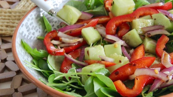 Spicy Watercress Salad