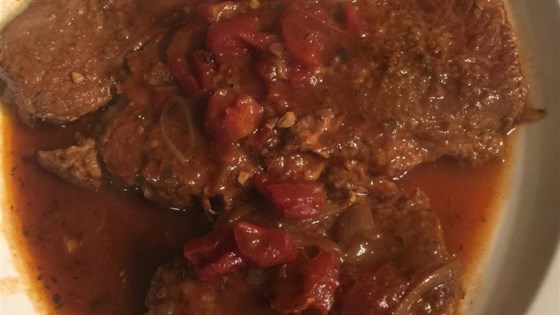 Slow Cooker Swiss Steak and Onion