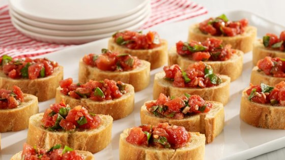 Photo of Hunt's® Easy Tomato Bruschetta by Hunt's