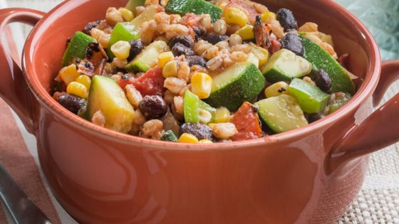 Photo of Vegetarian Farro Skillet by Hunt's