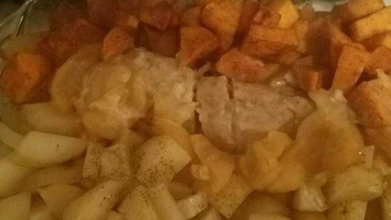 Cinnamon Pork Loin and Potatoes